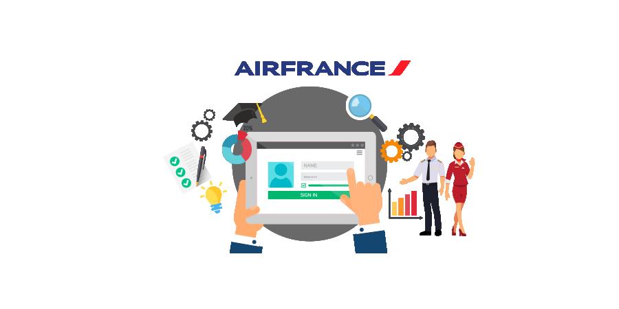 Concevoir une plateforme de Learning Management System (LMS) pour les 120 000 employés d'Air France