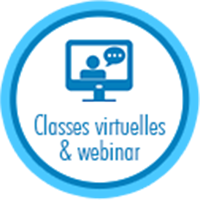 Classes virtuelles et webinar
